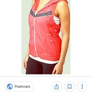 Lululemon Run Like the Wind Technical Vest Pink